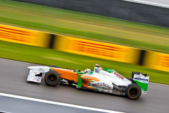 Adrian Sutil racing at Montreal Grand prix Stock Photography