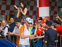 Adrian Sutil (team Force India) Stock Photography