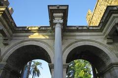 Adrian-Tore der alten Stadt Antalya die Türkei Stockfotografie
