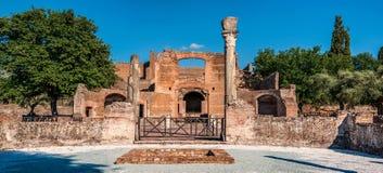 adriana italy nära den rome villan arkivfoto
