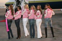Adriana Lima, Alessandra Ambrosio, Bob Hope, Gisele, Gisele Bundchen, Izabel Goulart, Karolina Kurkova, Selita Ebanks, Victoria's  Royalty Free Stock Photo