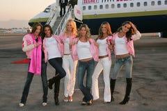 Adriana Lima, Alessandra Ambrosio, Bob Hope, Gisele, Gisele Bundchen, Izabel Goulart, Karolina Kurkova, Selita Ebanks, Victoria's  Stock Photos