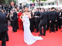 Adriana Lima assiste au ` sans amour de Nelyobov de ` Images stock