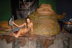 Adrianne Curry,Jabba,The Features Stock Photos