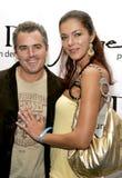 Adrianne Curry und Christopher Knight Lizenzfreie Stockfotos