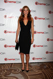 Adrianne Palicki llega la presentación de los estudios de Paramount CinemaCom 2012 Fotografía de archivo