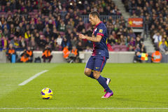 Adriano Correia FCB Stockbilder