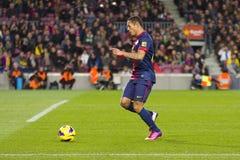 Adriano Correia FCB Stock Images