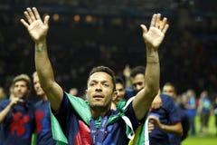 Adriano FC Barcelone Стоковое Фото