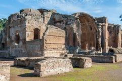 Adriano ruins. Ruins in tivoli at the Emperor Adriano near Rome Royalty Free Stock Image