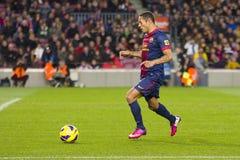 Adriano von FC Barcelona Lizenzfreie Stockfotos