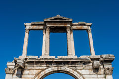 Adrianou-Tor in Athen, Griechenland Stockfotografie