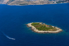 Adriatc Landschaft Stockfoto