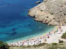 Adriatic bay Stock Photography