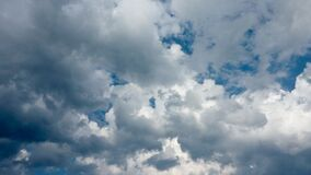 Adriatic clouds Royalty Free Stock Photo