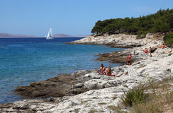 Adriatic Coast Royalty Free Stock Images