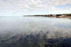 Adriatic Coast. Beautiful Adriatic coast near Zadar, Croatia Stock Images