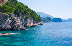 The adriatic coast Royalty Free Stock Photo