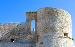 The Adriatic coast. Italy, Ortona, the Aragonese fortress Stock Photos