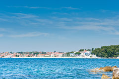 Adriatic coast resorts area stock image