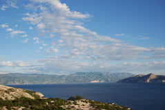 Adriatic coast royalty free stock photo