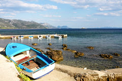 Adriatic coast vacations Stock Images