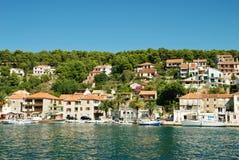 Adriatic coastline royalty free stock photo