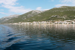 Adriatic coastline Royalty Free Stock Photos