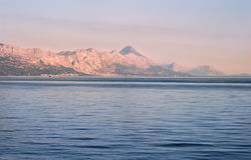 Adriatic coastline Royalty Free Stock Photos
