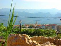 adriatic Croatia denny rozszczepiony lato zmierzch zdjęcie royalty free