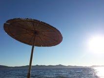 adriatic Croatia denny rozszczepiony lato zmierzch Obrazy Royalty Free