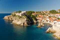 adriatic croatia dubrovnik hav Royaltyfri Fotografi