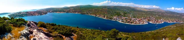 adriatic croatia hav Arkivbild