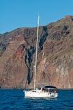 adriatic Croatia widzii jacht Fotografia Royalty Free