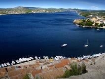 adriatic croatien havet Arkivbild