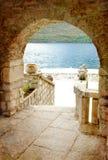 adriatic gammala towns Arkivfoto