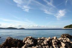 adriatic hav royaltyfria bilder