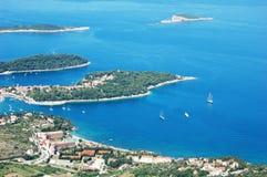 adriatic hav arkivbilder