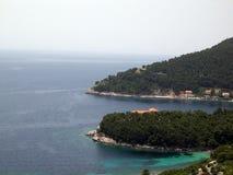 adriatic hav arkivfoton
