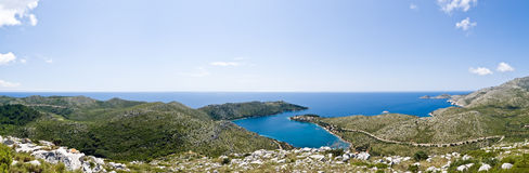 Adriatic - island Royalty Free Stock Image