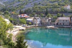 adriatic kust Arkivbilder