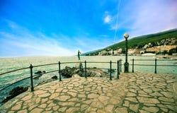 adriatic kust Royaltyfria Foton