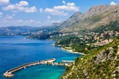 Adriatic lagoon Stock Photography