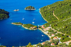 Adriatic landscape Royalty Free Stock Photos