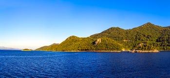 Adriatic landscape Royalty Free Stock Image