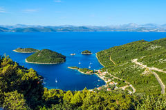 Adriatic landscape Royalty Free Stock Image