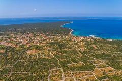 Adriatic landscape - Croatia Stock Photos