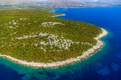 Adriatic landscape, Croatia Stock Photos
