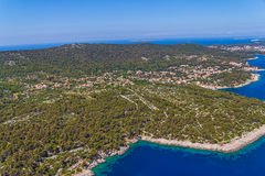 Adriatic landscape - Island Losinj Stock Photos