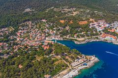 Adriatic landscape - Island Losinj Stock Photography